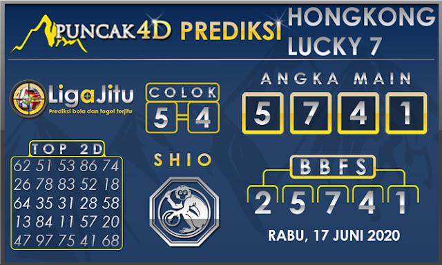 PREDIKSI TOGEL HONGKONG LUCKY 7 PUNCAK4D 17 JUNI 2020