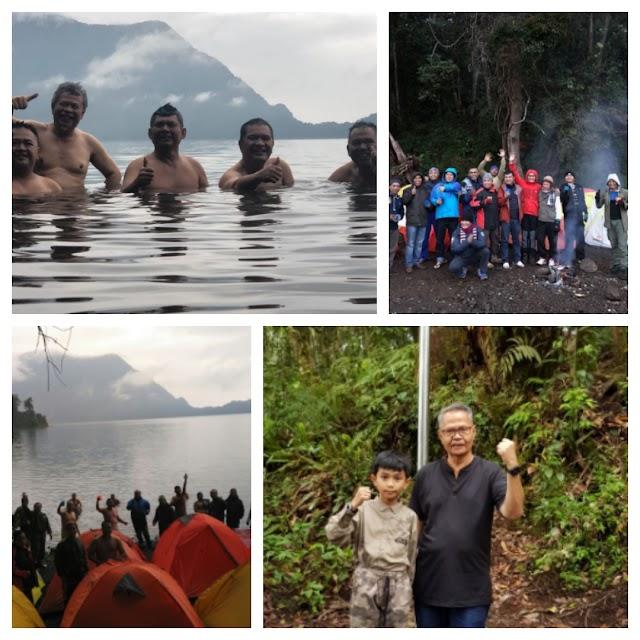 Semalam Di Gunung Tujuh, Ketum PB-HKKN: Airnya Bisa Kita Jadikan Minuman Kemasan