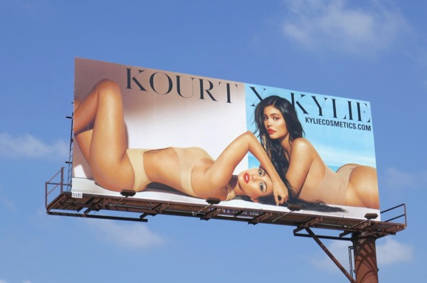 Kourt X Kylie Cosmetics Apr18 billboard