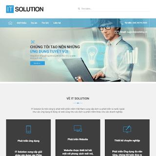 template blogspot giới thiệu công ty chuẩn SEO
