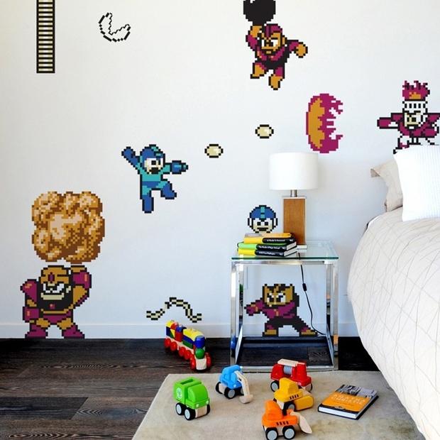 ideias para decorar o quarto geek