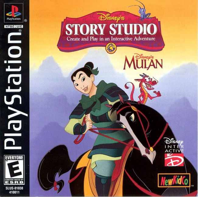 Disneys Story Studio Mulan - PS1 - ISOs Download