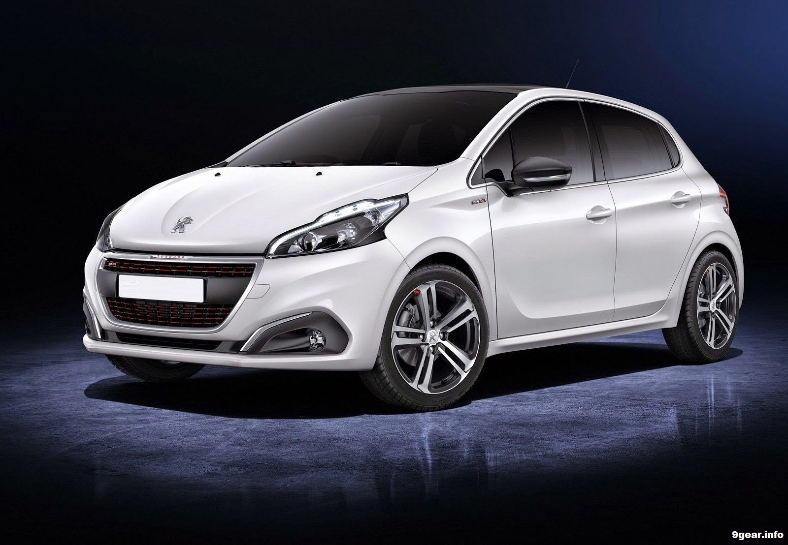 2015 peugeot 208 gets a subtle facelift for geneva car reviews new car pictures for 2018 2019. Black Bedroom Furniture Sets. Home Design Ideas