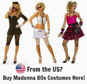 80s fashion online 80s madonna fancy dress costume