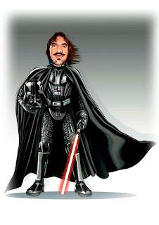 mascote tematizado Dart Vader