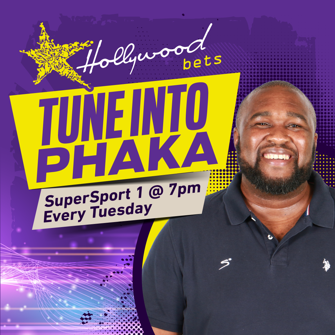 Tune into Phaka every Tuesday at 7pm on SuperSport 1 with your host Kaunda Ntunja. Sponsored by Hollywoodbets