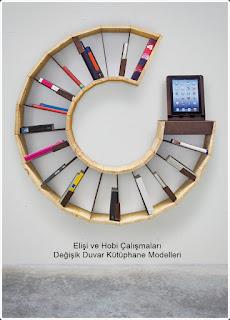 Kütüphane Modelleri  - Dekorasyon  11