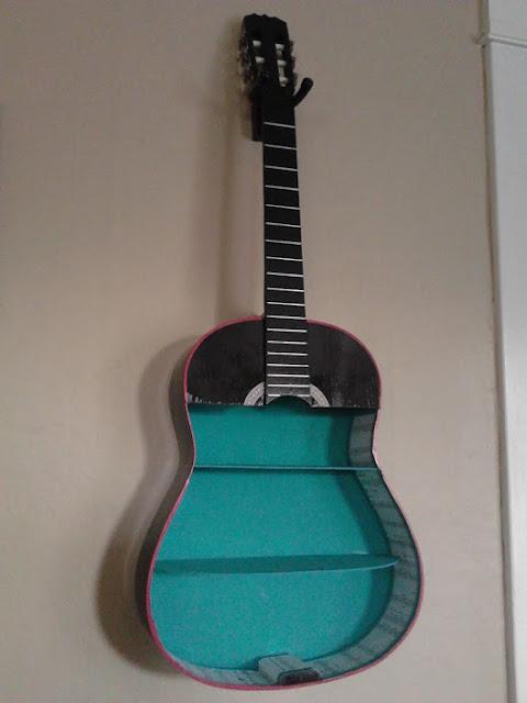 I Am Pinteresting Pinteresting Guitar Shelf