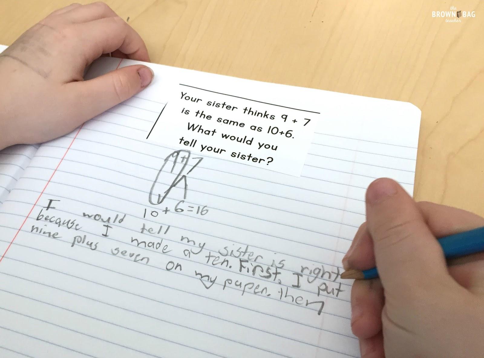 guided math in 1st grade the brown bag teacher. Black Bedroom Furniture Sets. Home Design Ideas