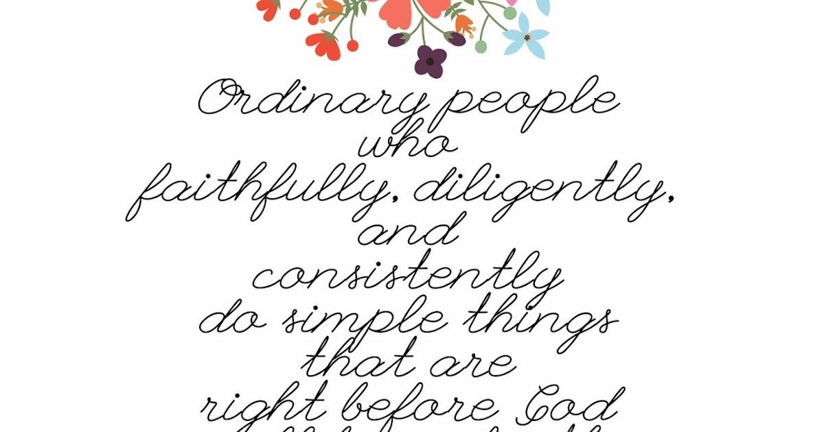 Deseret Designs: Ordinary People