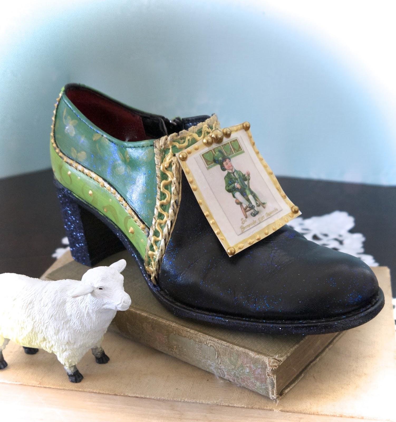 Black Leprechaun Shoes