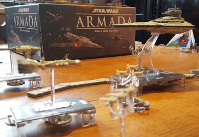Star Wars Armada gameplay review