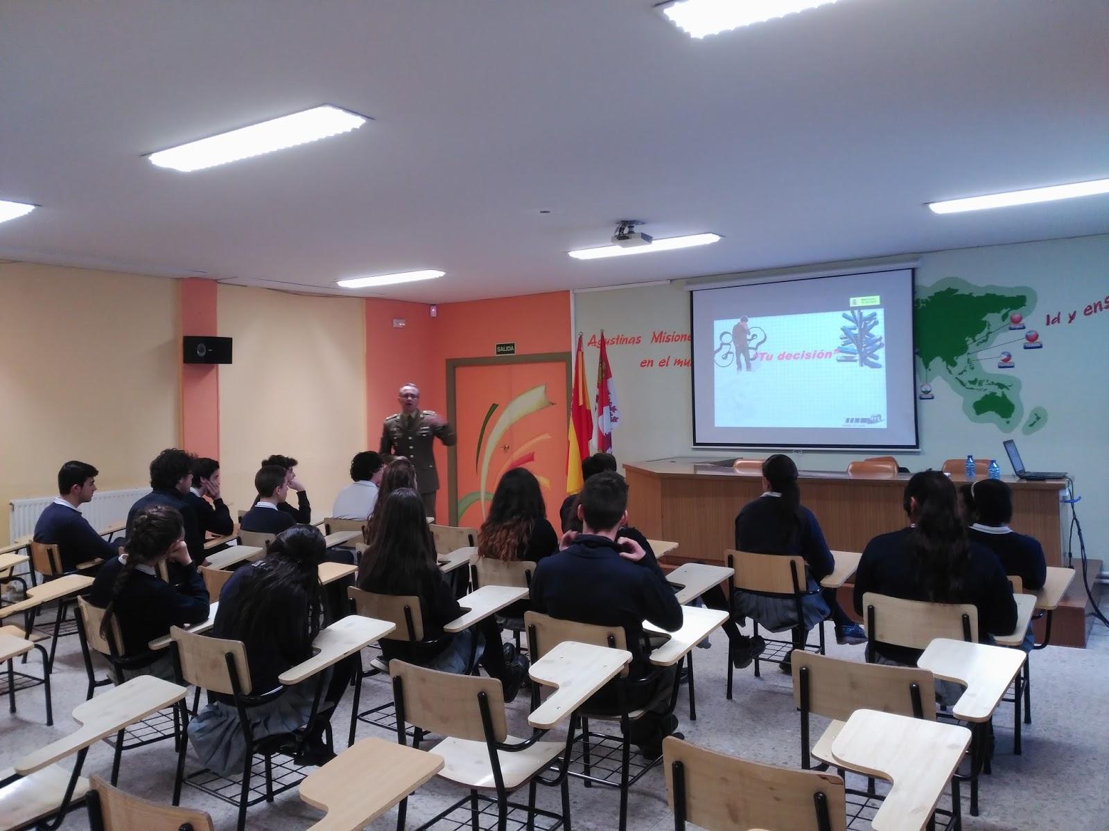 Agustinas Valladolid - ESO 4 - 2017 - Ejercito Orientación