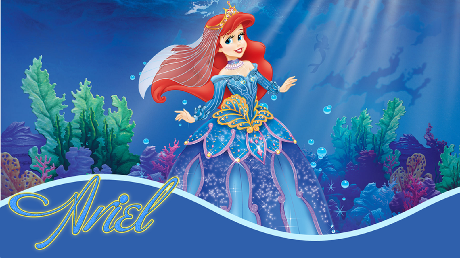 Disney HD Wallpapers: Walt Disney Princess Ariel HD Wallpapers