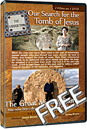 Our Search for the Tomb of Jesus FREE DVD. By Simon Brown.