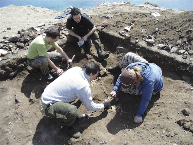 Bronze Age burial unearthed near Russia's Lake Baikal in Southern Siberia