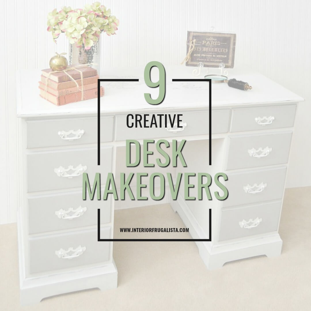 Nine Creative Desk Makeover Ideas
