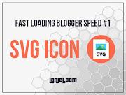Mempercepat Blog #1 - Icon SVG Sebagai Pengganti Font Awesome