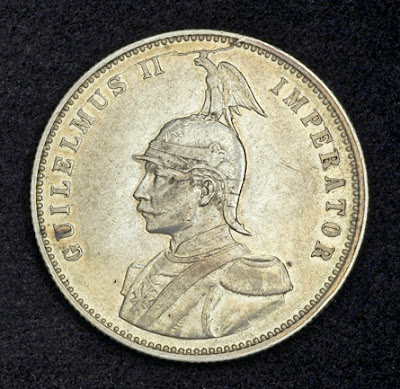 German East Africa Silver Rupee Coin