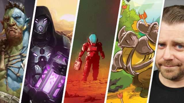 Kickstarter Highlights On Mars, Anachrony Fractures of Time Expansion, Kingdom Rush, Critical Core, Secret Cabal Gaming Podcast