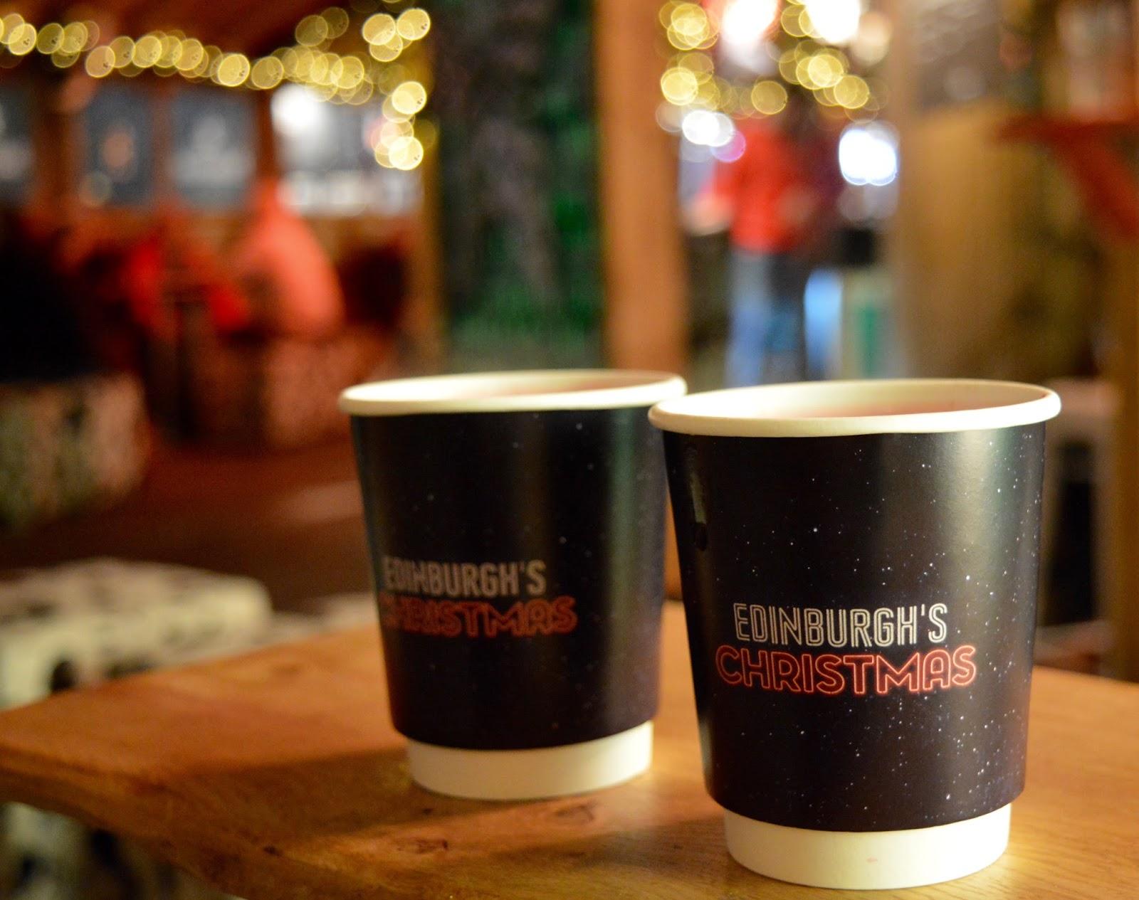 10 Reasons to Visit Edinburgh in December - mulled wine