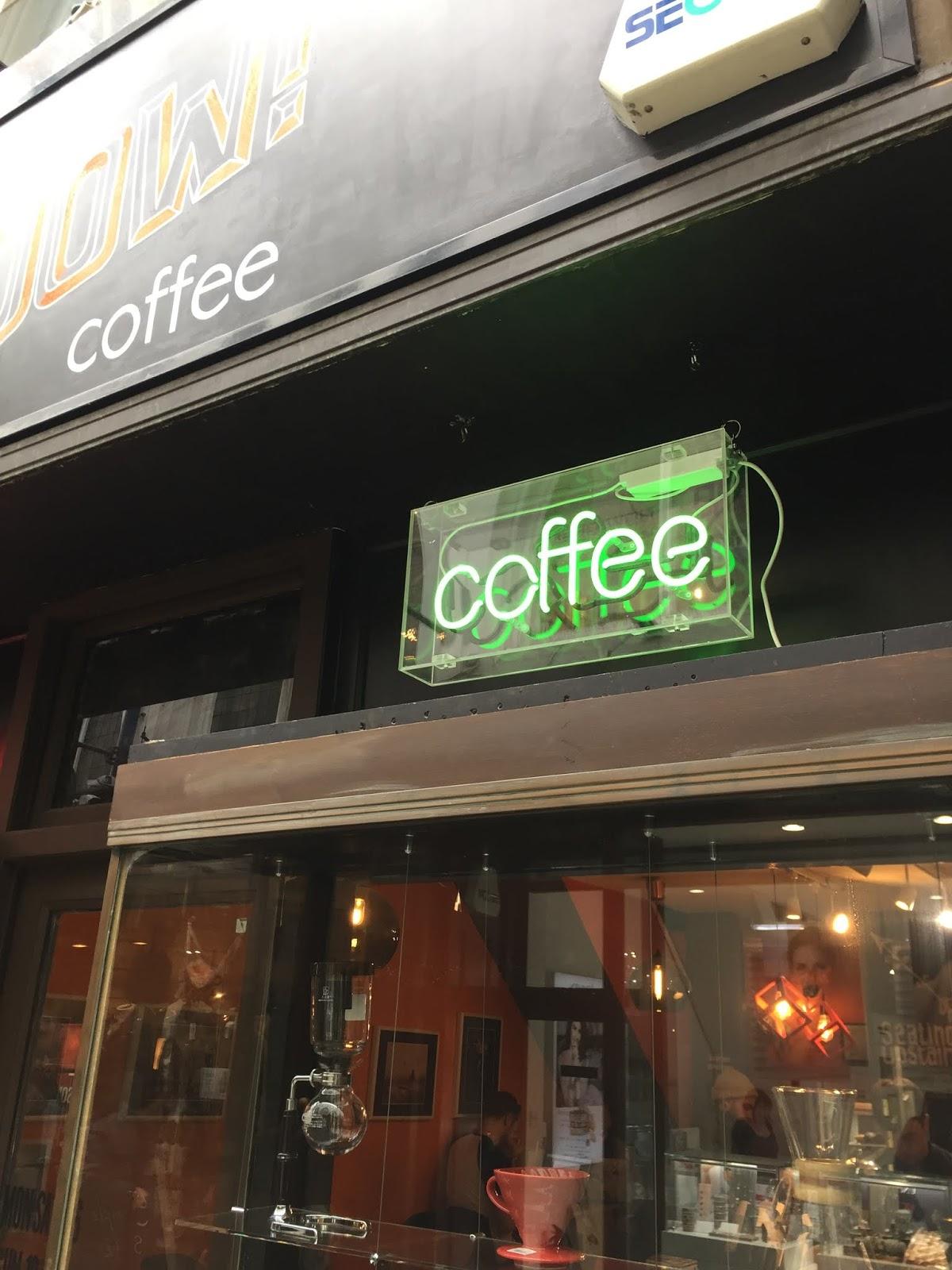 kapow coffee storefront