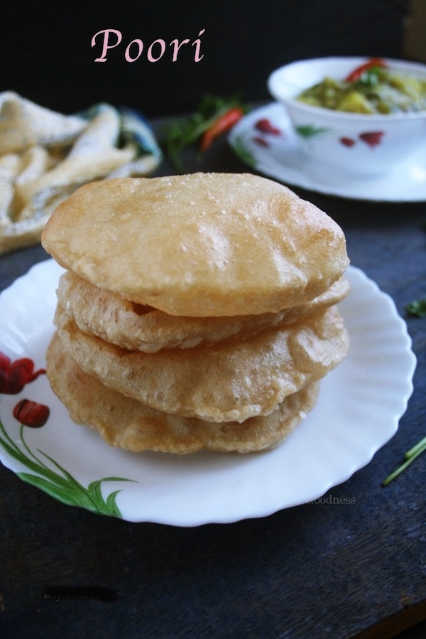 Poori Recipe | How To Make Fluffy Puri