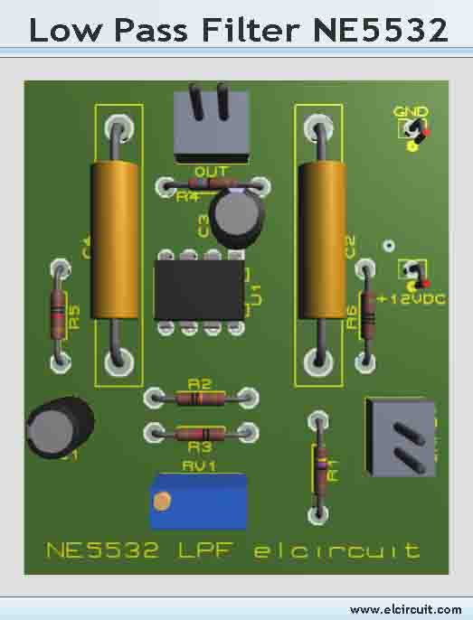Bass Filter Circuit Pcb Schematic Files Adjustablebassfilter