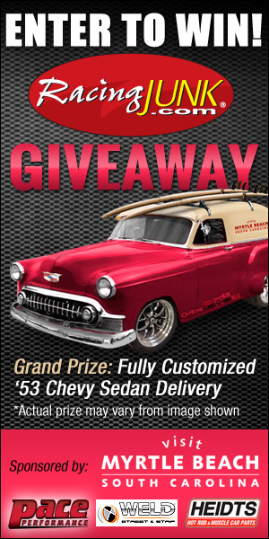 RacingJunk Custom Chevy Giveaway ~ Sweepstaking net - A one