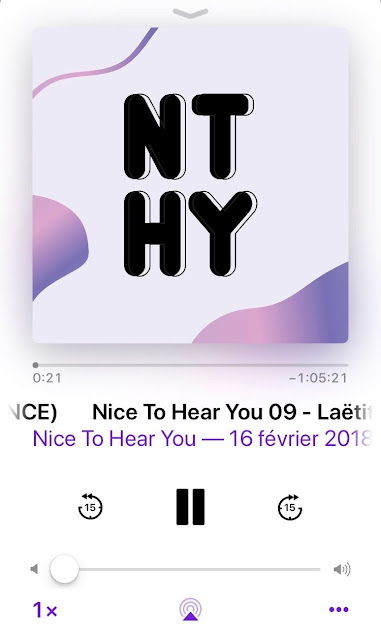 podcast Nice to hear you