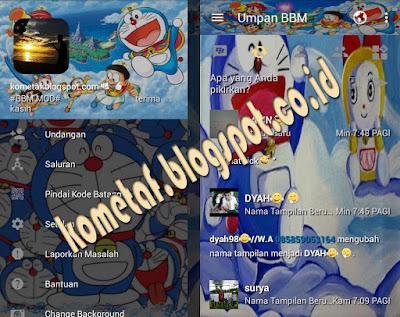 BBM Mod Doraemon Fun v.3.1.13 Pro APK Terupdate