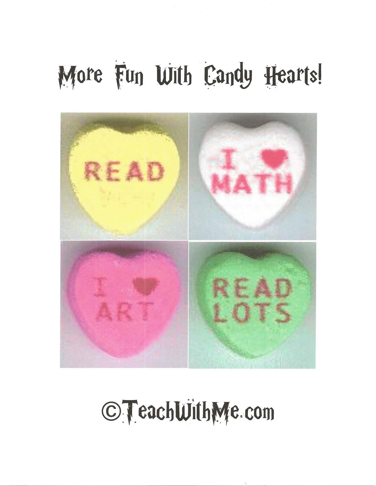 More Fun With Candy Hearts