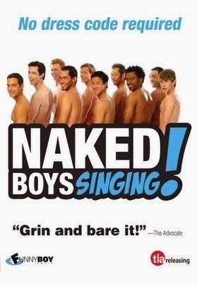 Naked Boys singing, poster