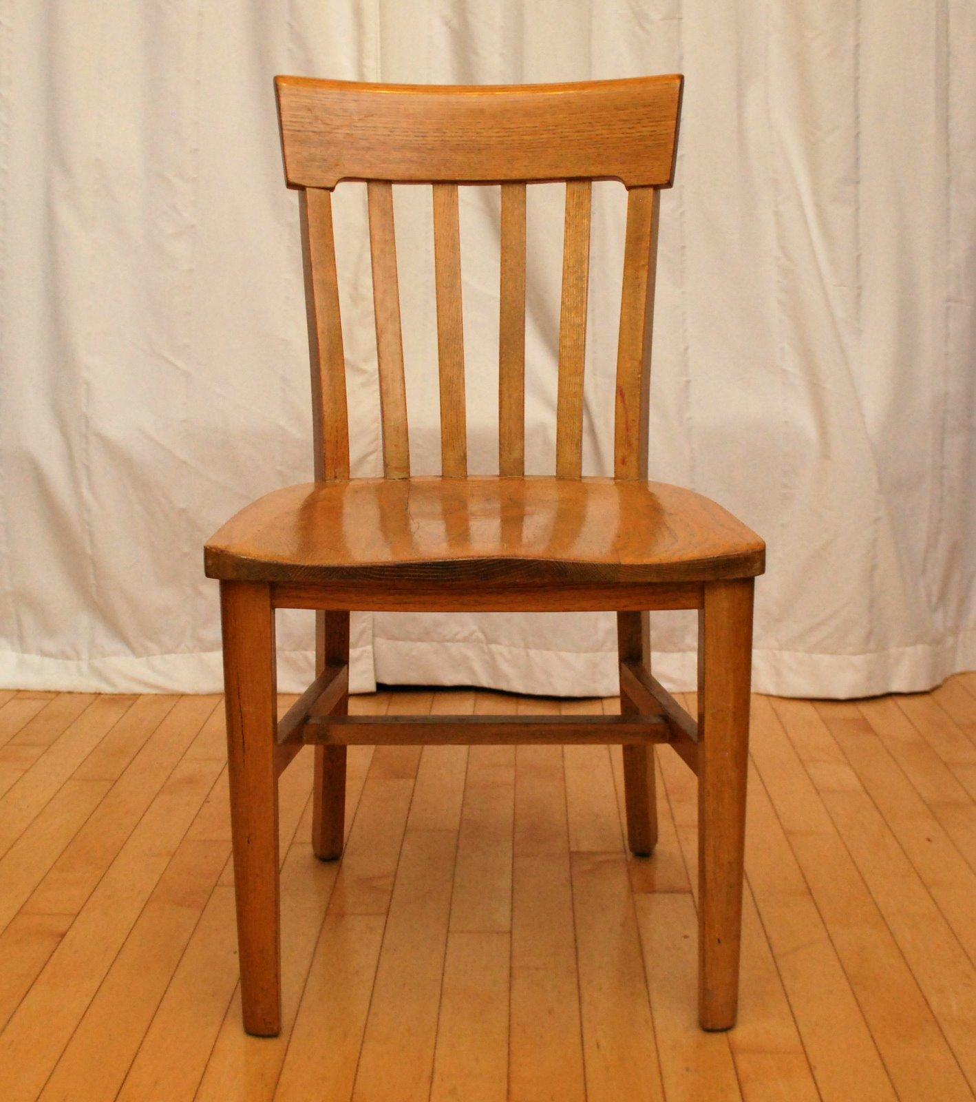 1940 S Oak Desk Chair