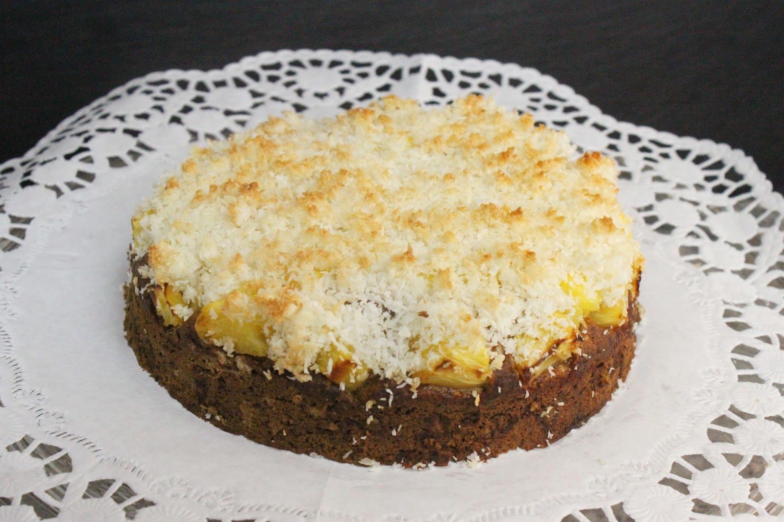 Vegan Backen Ananas Kokos Kuchen Jamblog