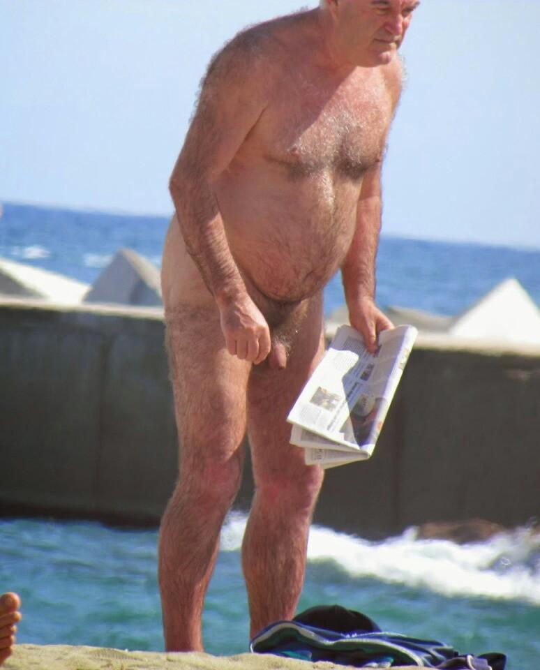 Nudista maduro en Rusia