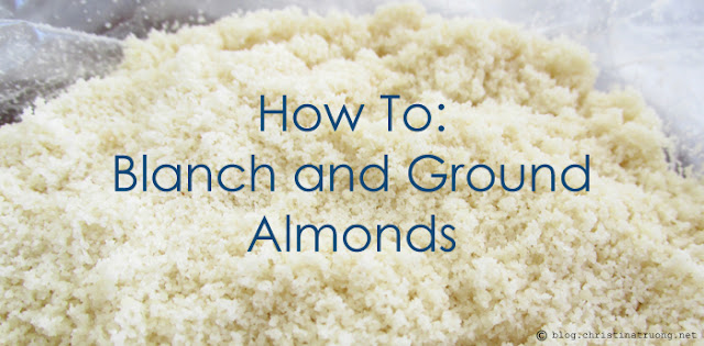 How To Blanch and Ground Almonds