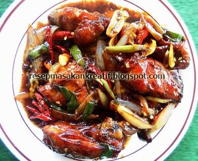 Resep Ayam Kecap Bumbu Pedas Manis Dan Gurih Aneka Resep Masakan Sederhana Kreatif