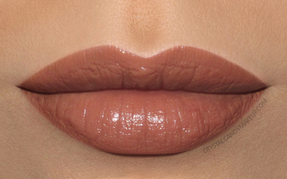 MAC Liptensity Lipstick Swatch Well Bred Brown