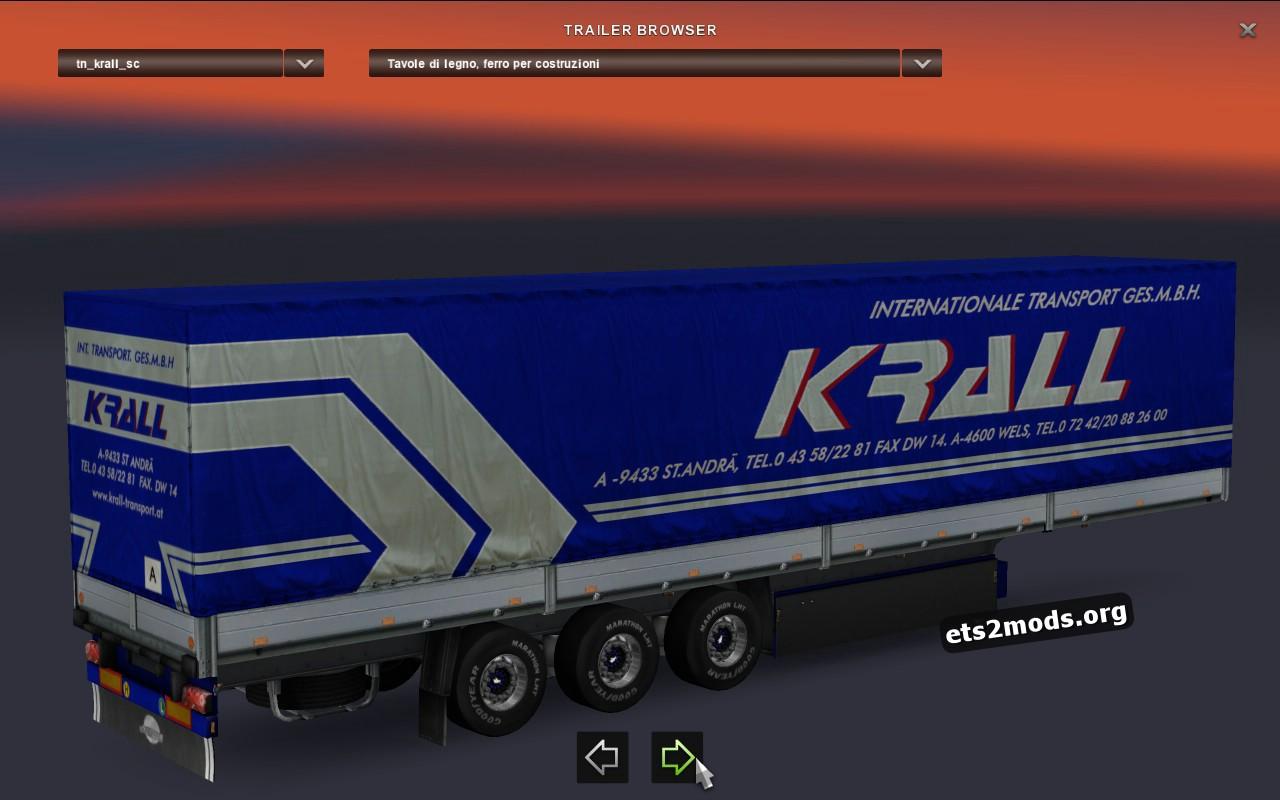 Schmitz Trailer Krall Int. Transport