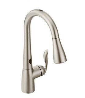 Moen Arbor Motionsense pulldown Kitchen Faucet