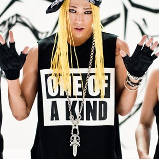 G-Dragon One Of A Kind tour T-shirt as worn by G-Dragon