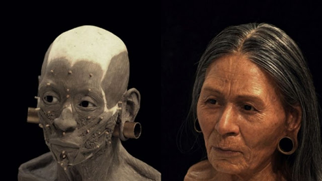 Face of 1,200 year old Peruvian queen reconstructed