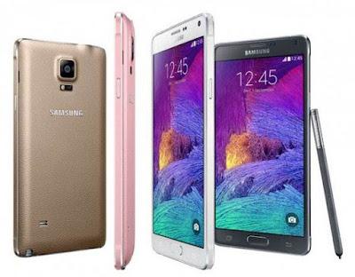 Gambar Samsung Galaxy Note 4 Duos