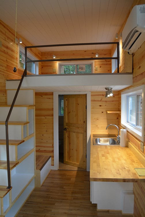 Tiny Home Designs: TINY HOUSE TOWN: Opp Tiny House (240 Sq Ft