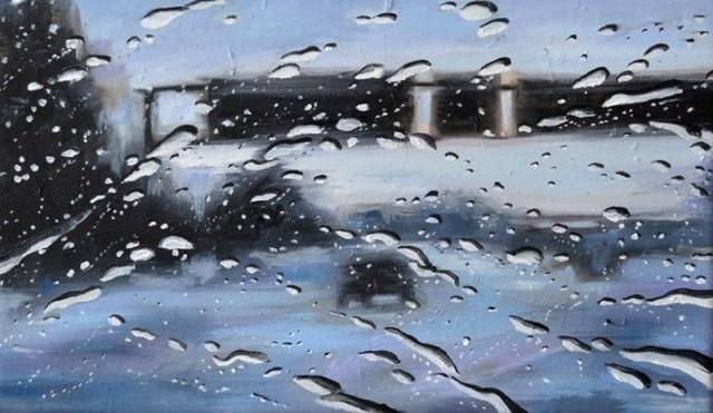 rain drops art