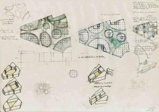 Complesso in Colonia | Herman Hertzberger | Composizione Architettonica | Lo schema rovesciato