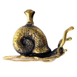 Купить кулон улитка, купить бронзовую улитку, купить латунный кулон на шею в виде улитки. Глюкоморье, Россия, Симферополь.