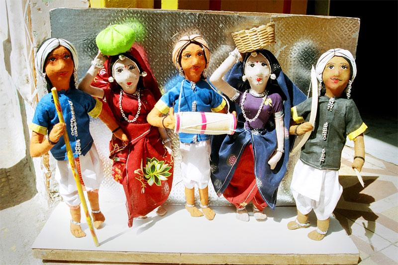 """""""गुड़िया कला"""" झाबुआ जिले की पुरातन संस्कृति, Jhabua Dolls- Tribal Handicrafts"""