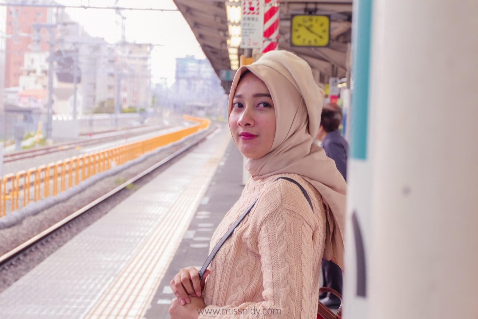 pengalaman naik kereta di jepang
